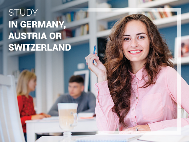 Study in Germany, Austria or Switzerland
